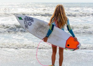 In the next heat - Cocoa Beach Easter Surf Festival