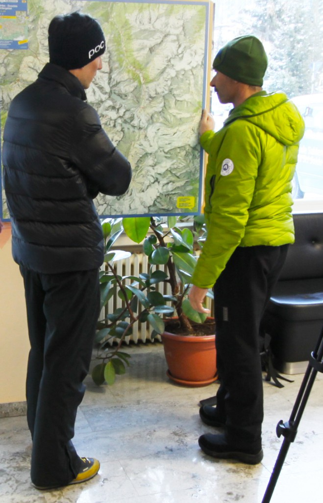 Armin Senoner és Olaf Reinstadler