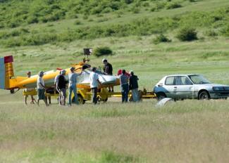 Lezuhant egy vitorlázórepülő, ketten megsérültek