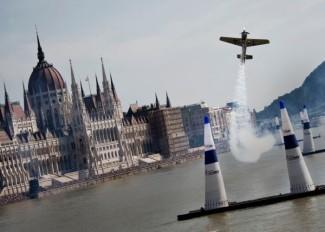 A néhai Hannes Arch az egyik budapesti versenyen (Fotó: redbull.com)